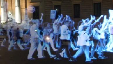 manifestation d'hologrammes
