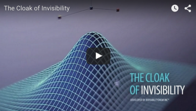 the cloak of invibility le mantean d'invisibilité