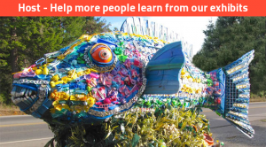 washed ashore project art to save the sea fish